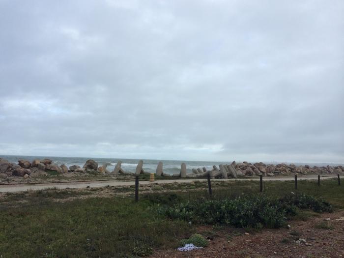 Na boca de Port Elizabeth